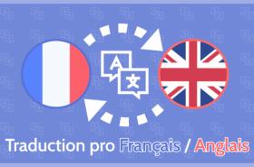 Je vais réaliser une traduction Anglais-Français de qualité