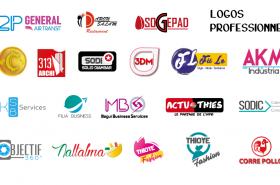 Confection de logos professionnels